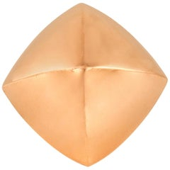 Hermes Collier De Chien Rock Rose Gold Ring
