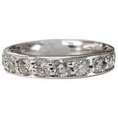 14 Karat Diamond Eternity Ring with 2.05 Carat