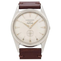 Vintage Longines Automatic Stainless Steel Watch, 1956