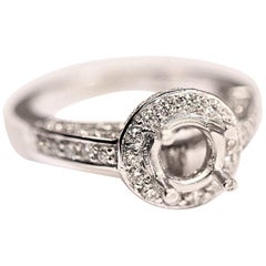 Engagement Ring with Diamonds