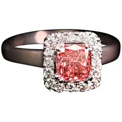 Beautiful Pink Diamond Ring