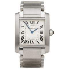 Cartier Tank Francaise Stainless Steel 2301