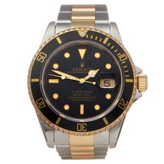 Rolex Submariner Stainless Steel and 18K Yellow Gold 16613 Wristwatch