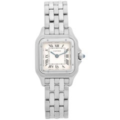 Cartier Panther Ladies Stainless Steel Panthere Watch W25033P5