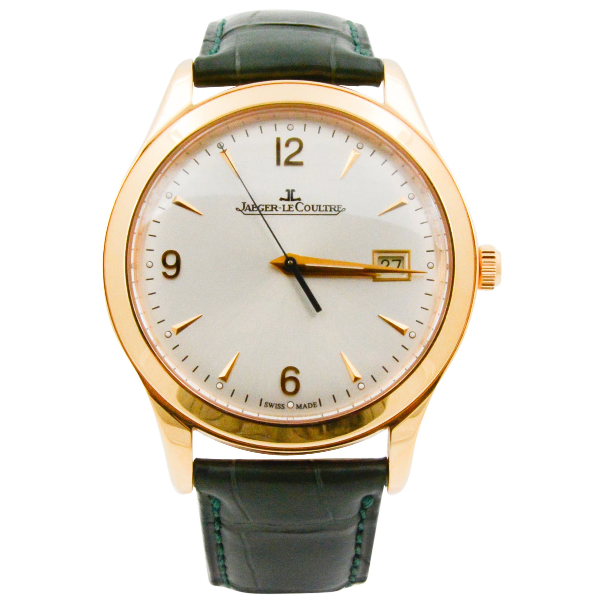 Jaeger LeCoultre Master Control Date Watch