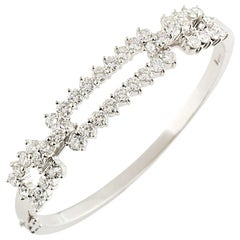 Kutchinsky Diamond Bangle 4.60 Carat