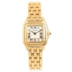 Cartier Panther Ladies 18 Karat Quartz Wrist Watch