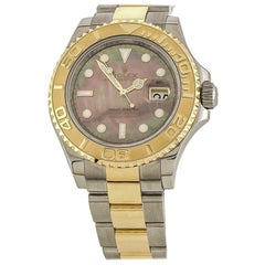 Rolex Yacht-Master Black Mother of Pearl Watch