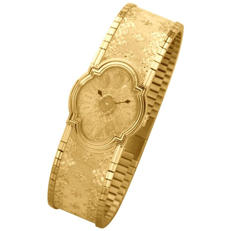 Buccellati Yellow Gold Limited Edition Arischron For Sale