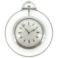 Lacloche Freres Art Deco Rock Crystal Pocket Watch