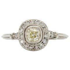 Platinum Diamonds Ring