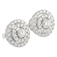 Diamond Stud Earrings 2.24 Carat