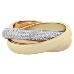 Cartier Classic Trinity Diamond Ring