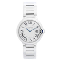 Cartier Ballon Bleu Midsize Stainless Steel Quartz Watch W69011Z4