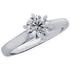 GIA Certified .90 Carat Diamond Engagement Ring