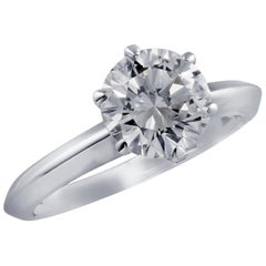Vivid Diamonds Certified 1.43 Carat Diamond Engagement Ring