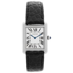 Cartier Tank Solo Stainless Steel Ladies Watch W520005