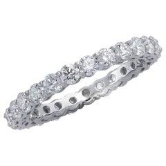 Vivid Diamonds 1.45 Carat Diamond Eternity Band