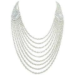 229.05 Carat Briolette Diamond Necklace