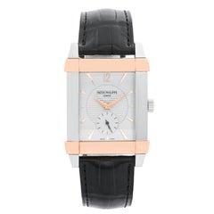Patek Philippe Gondolo Men's Platinum and Rose Gold Watch 5111PR 'or 5111 PR'