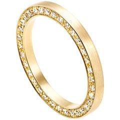 18 Karat Yellow Gold Diamond Full Eternity Ring #17-#20