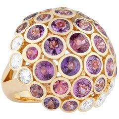Carelle Disco Dots Mushroom Ring