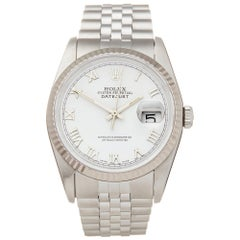 Rolex Datejust 36 Stainless Steel and 18 Karat White Gold 16234