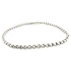 David Yurman Men's Sterling Silver Box Chain