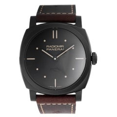 Panerai Radiomir Ceramica 3 Days Power Reserve Manual Winding Wristwatch