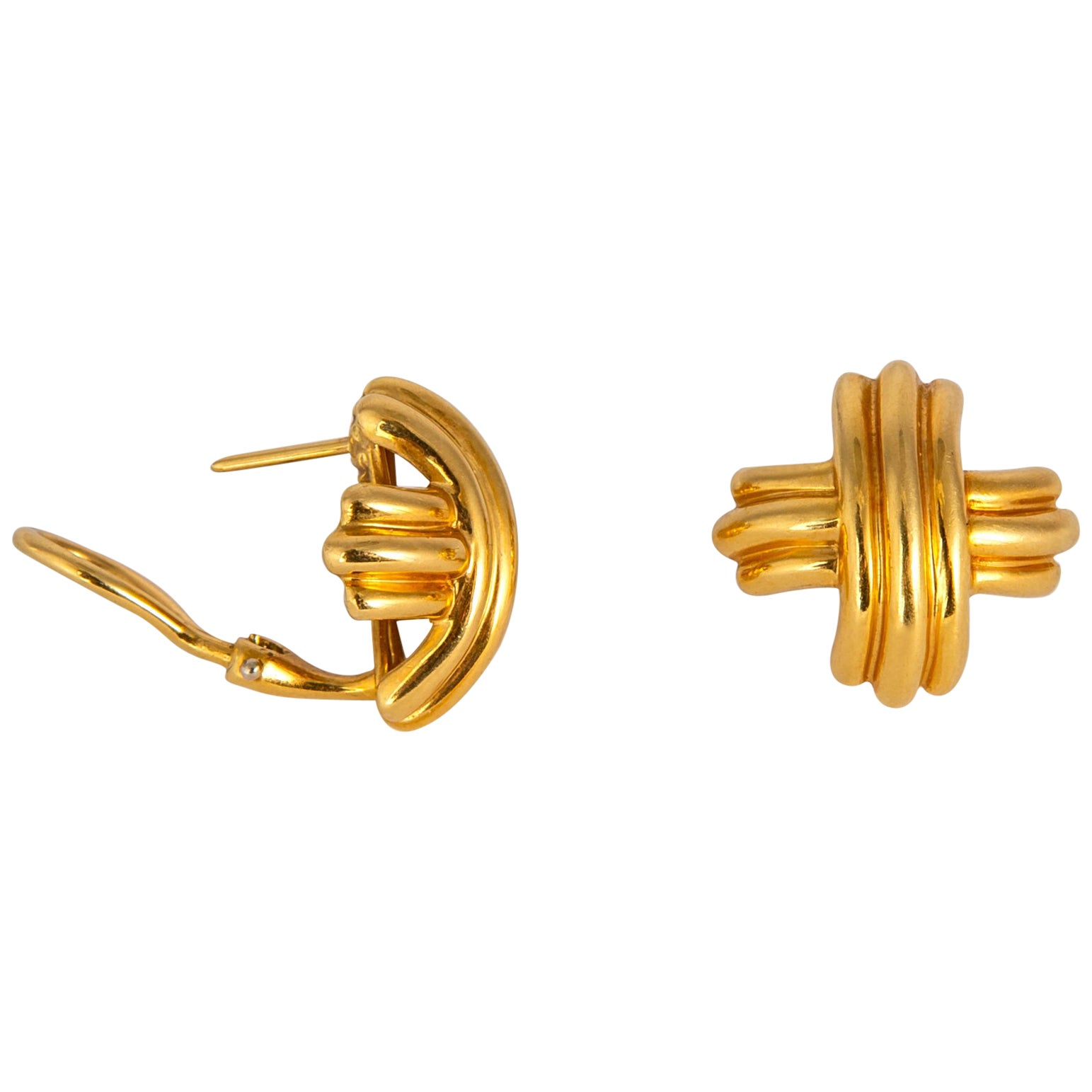 Iconic Tiffany & Co. Criss Cross Earrings