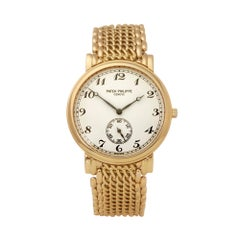 Patek Philippe Calatrava 18K Yellow Gold 5522/1 Wristwatch