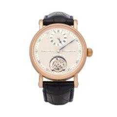 Chronoswiss Tourbillon 18K Rose Gold CH3121R Wristwatch