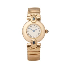 Cartier Colissee 18k Yellow Gold 1989 Wristwatch