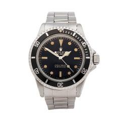 Rolex Submariner Stainless Steel 5513 Wristwatch
