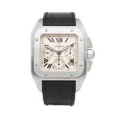 Cartier Santos 100 XL Stainless Steel 2740 Wristwatch