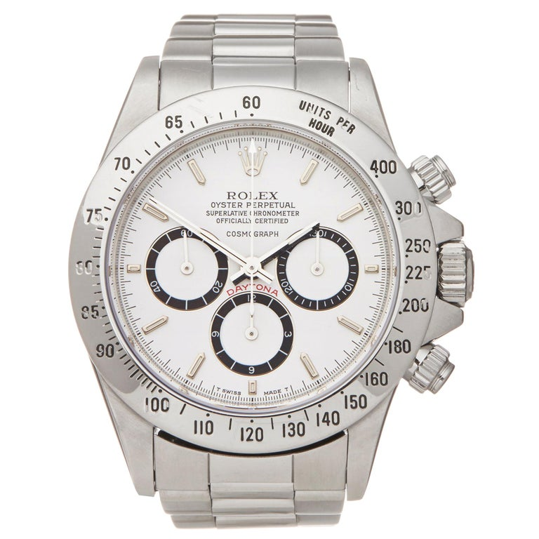 Rolex Daytona Floating Cosmograph Stainless Steel 16520 Wristwatch For Sale