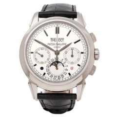 Patek Philippe Perpetual Calendar Chronograph 18K White Gold 5270G-001 Watch