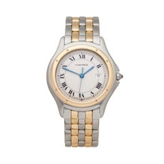 Cartier Panthere Cougar Stainless Steel And 18k Yellow Gold V74BQV