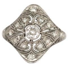 .20 Carat Diamond Platinum Engagement Ring
