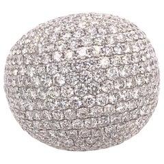 Ruchi New York Pavé Diamond Dome Ring