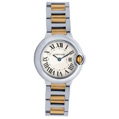Cartier Ladies Watch Ballon Bleu Steel and Yellow Gold