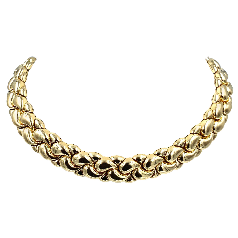 Chopard Casmir Yellow Gold Necklace