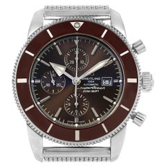 Breitling SuperOcean Heritage II Chrono 46 Watch A13312 Box Papers