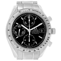 Omega Speedmaster Chronograph Black Dial Steel Watch 3513.50.00