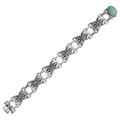 Vintage Georg Jensen Bracelet #2 Amazonites