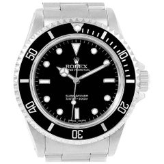 Rolex Submariner No-Date 2-Liner Men's Watch 14060 Box Papers