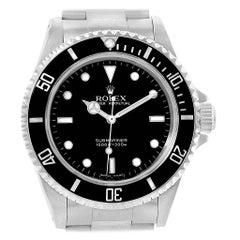 Rolex Submariner No-Date 2-Liner Men's Watch 14060 Box Papers