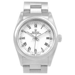 Rolex Midsize White Dial Automatic Steel Ladies Watch 67480