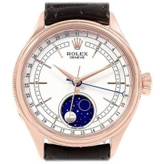 Rolex Cellini Moonphase Everose Rose Gold Automatic Men's Watch 50535