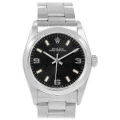 Rolex Midsize Black Dial Automatic Steel Ladies Watch 67480
